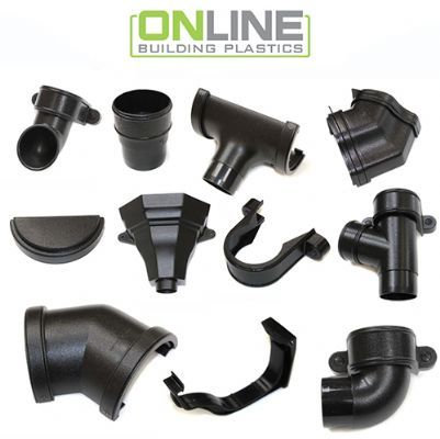 Cast iron effect guttering