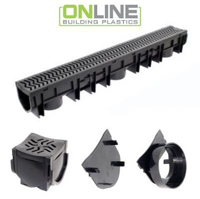 Channel Drains and accessories available