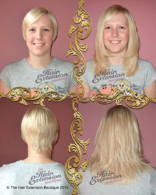 Full Head 10 inch European Human Hair Extensions, 75g, 4 Colours