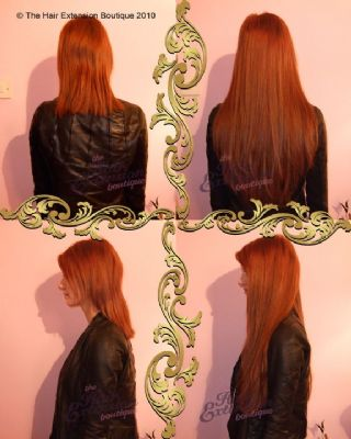 Full Head 18 inch European Human Hair Extensions, 150g, 4 Colours