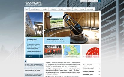 Galvanizer's Association Website