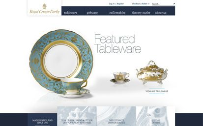 Royal Crown Derby Website