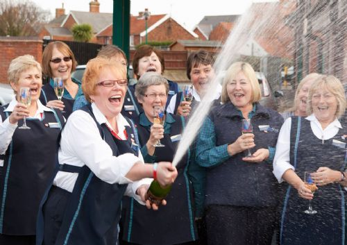 Lottery winners celebrate at Leiston Co-op