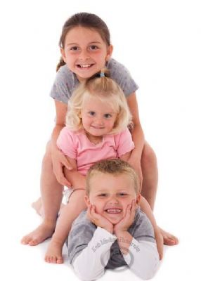 Lifestyle studio portriats, the fun way to create a cherished photo of your loved ones.