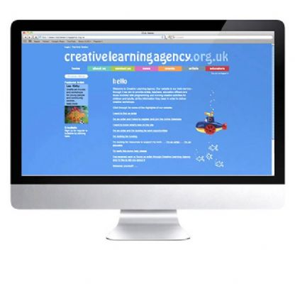 Creative Learning Agency website