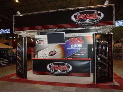 Fuel Exhausts at the NEC Bike Show 2007