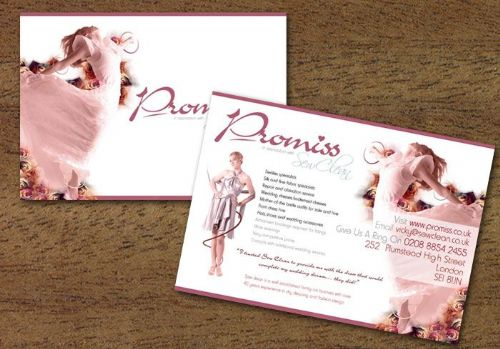 Flyers for Promiss Ltd