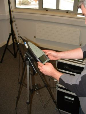 Configuring the Sound Level Meter