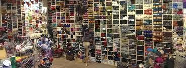 selection of yarns