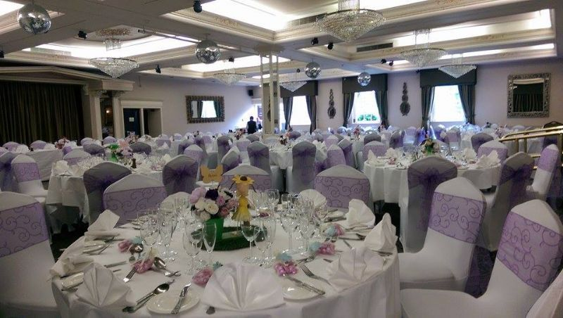Chair cover & sash hire, photo taken at Ramside Hall Hotel xxx