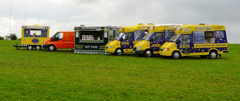 Ice Cream vans trailers Kiosks and hot food catering units