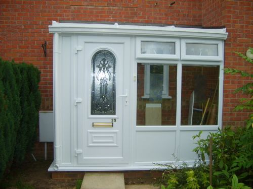 Porch at Fakenham (End result)