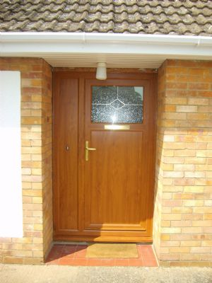 Light Oak door at Downham Market