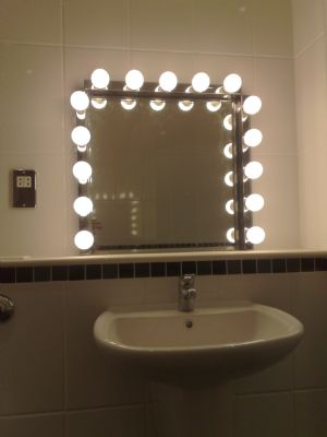 Bathroom lighting installed in an apartment, Cardiff Bay