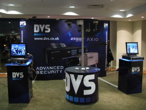 DVS Exhibiting at a tradeshow