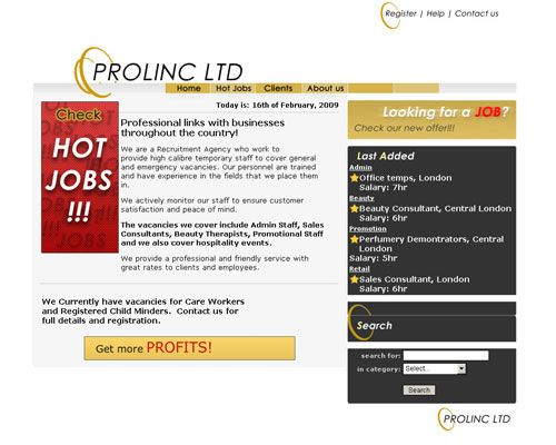 Http://www. Prolinc-ltd. Com/.