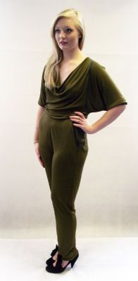 1970s designer vintage Janice Wainwight jumpsuit available at My Vintage