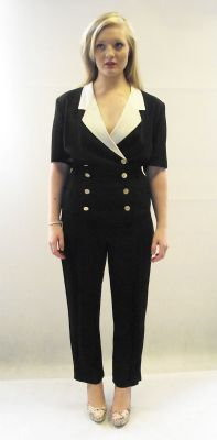 1980s designer vintage Escada jumpsuit available at My Vintage