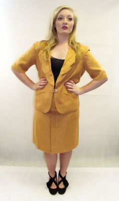 1980s designer vintage Chloe suit available at My Vintage