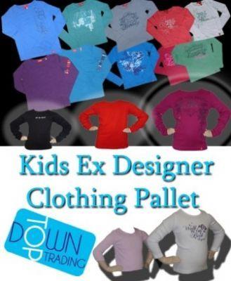 Kids Ex Designer Clothing Pallet