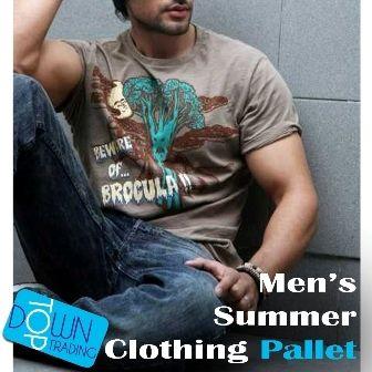 Men's Mixed Summer Clothing Pallet