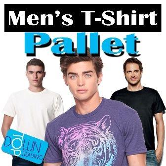 Men's Ex Chain Store and Ex Catalogue T-Shirt Pallet