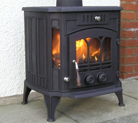 Country kiln cathedral wood burning stoves, logburners.