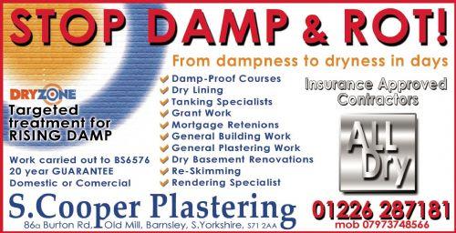 Alldry Damproofing Advert