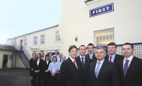 First Office Systems team photo - Tunbridge Wells
