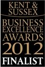 Customer Service excellence Kent and Sussex Business Awards 2012