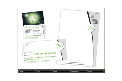 7KS Business Stationery