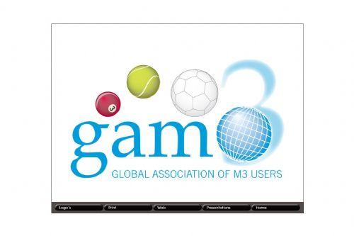 Gam3 logo.
