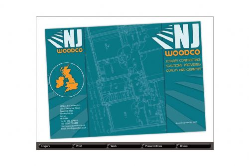 NJ Woodco Brochure Front and Back