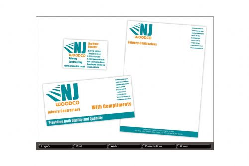 NJ Woodco Stationery
