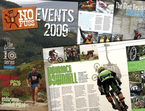 No Fuss Events 2009 brochure