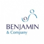 Identity design for Benjamin & Company, healthcare consultancy in developing countries