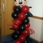 Mickey Mouse Balloon Colulmn
