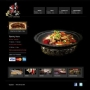Client website sample, Restaurant