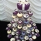 18th feature cake with cupcakes