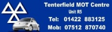 Tenterfield MOT Centre logo