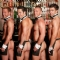 Some hunky Topless Butlers to serve you drinks and play party games!