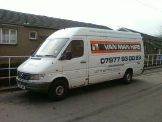 van man hire man and van hire company in stannington. Black Bedroom Furniture Sets. Home Design Ideas
