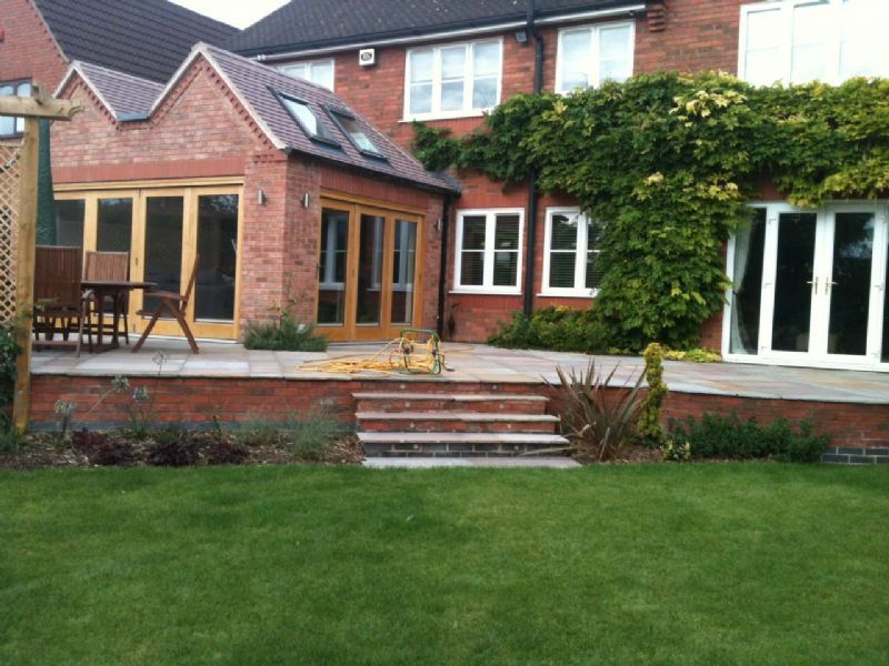 lighting needs of houses in newbold Morris avenue, newbold two 'bathroomed' detached house offers the enclosed south west facing rear garden comprises of a raised decking area with lighting.