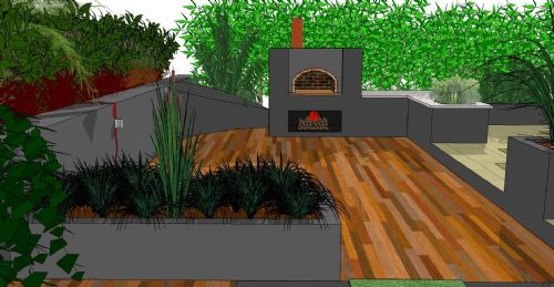 Jackson 39 s landscape design garden designer in newton for Sketchup landscape design