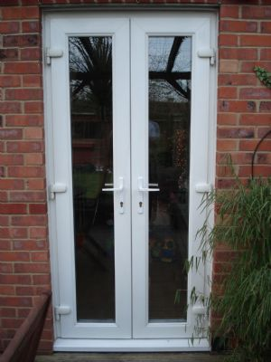 Lottery windows conservatory company in abingdon uk for Small double french doors