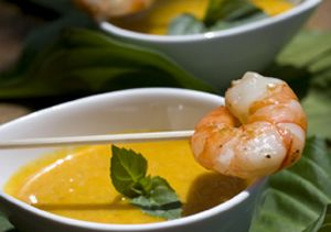 Shrimp and sweet curry dip - Catering Companies London