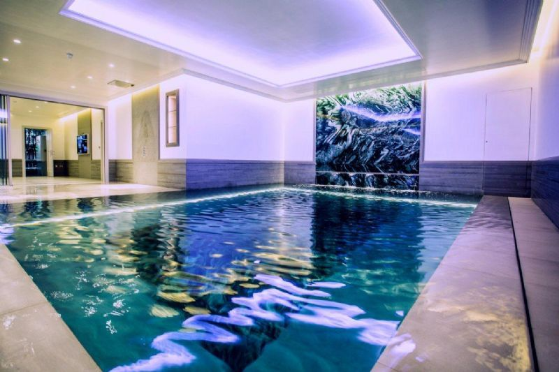 Tanby swimming pools swimming pool construction company Basement swimming pool construction