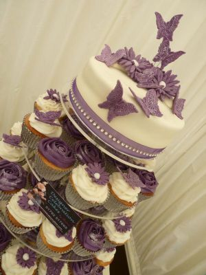 Cupcake Wedding Cakes Swansea