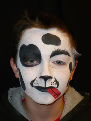 Gallery For gt Dalmation Face Paint