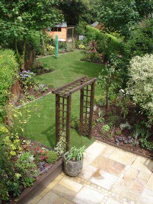 Lush Landscape Garden Design Garden Designer in